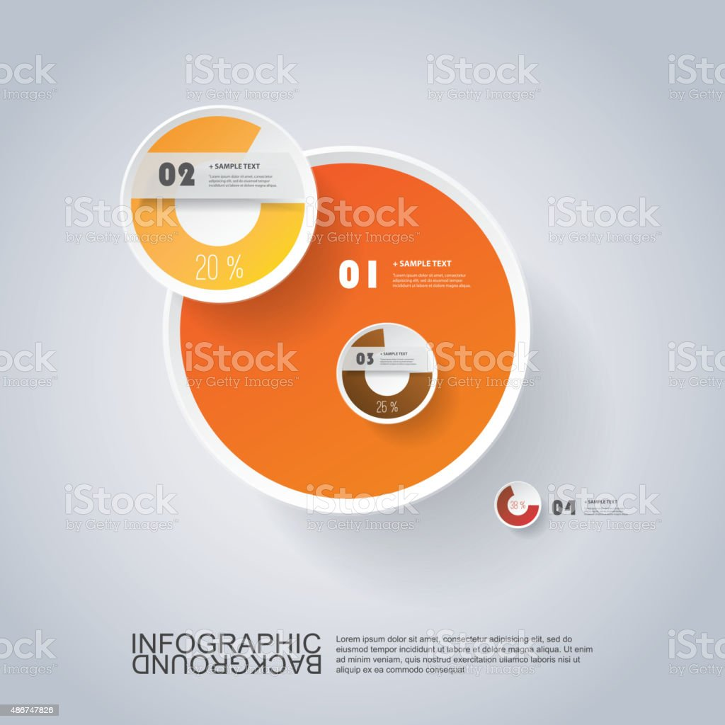 Customizable circle infographic design with pie chart stock vector customizable circle infographic design with pie chart royalty free customizable circle infographic design with pie nvjuhfo Images