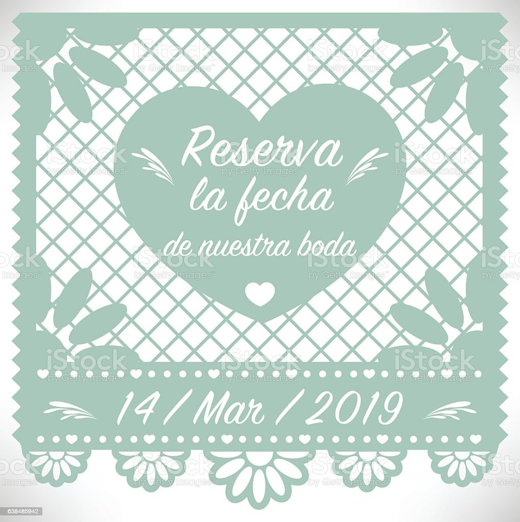 Save the date in spanish in Perth