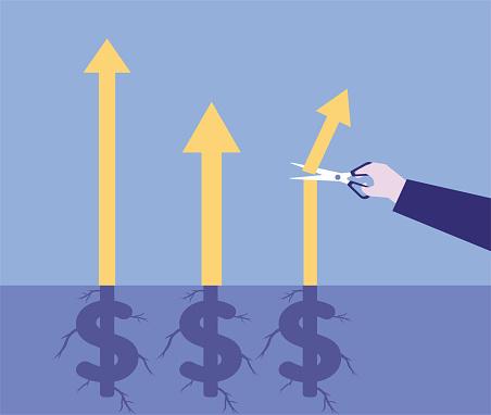 Cut the rising dollar stock market