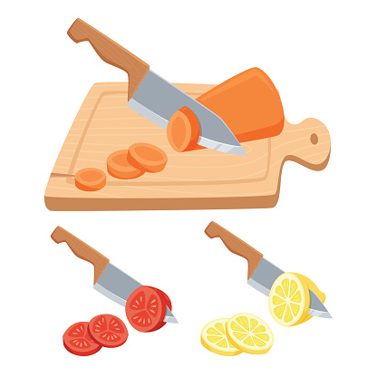Cut vegetable and fruit