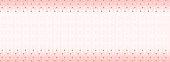 Girlish sweet pastel background. Trendy geometric wallpaper. Magic pink white with golden rhombus