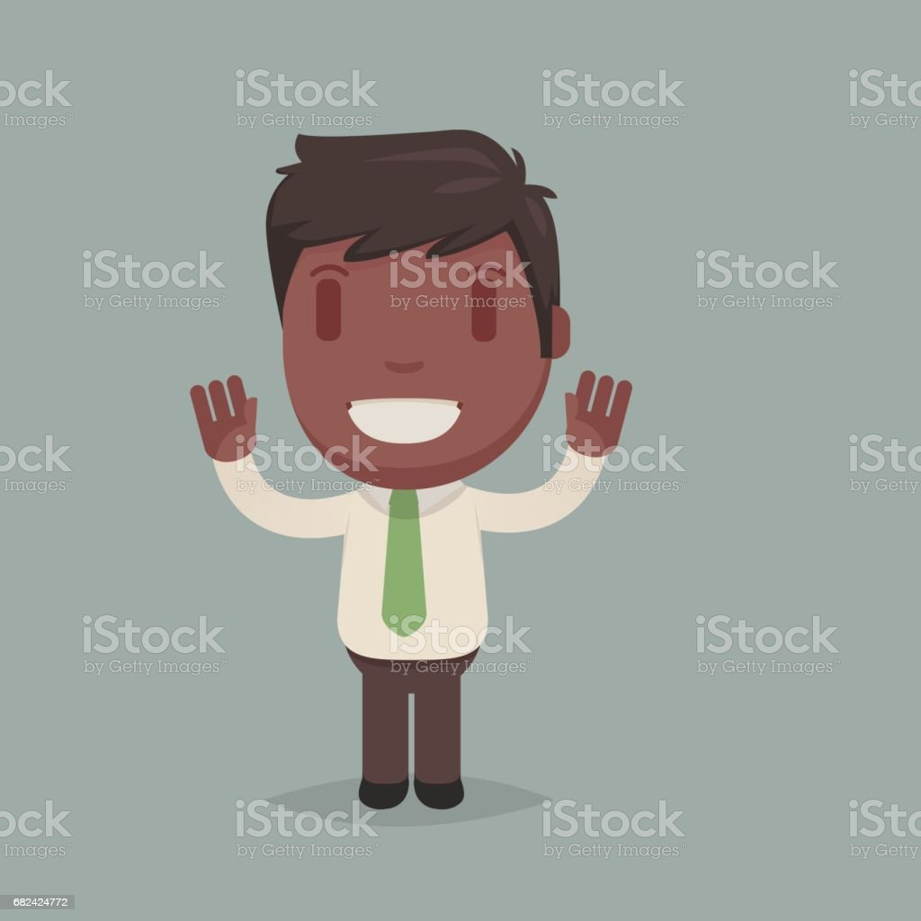 Cute afro american man royalty-free cute afro american man stock vector art & more images of adult