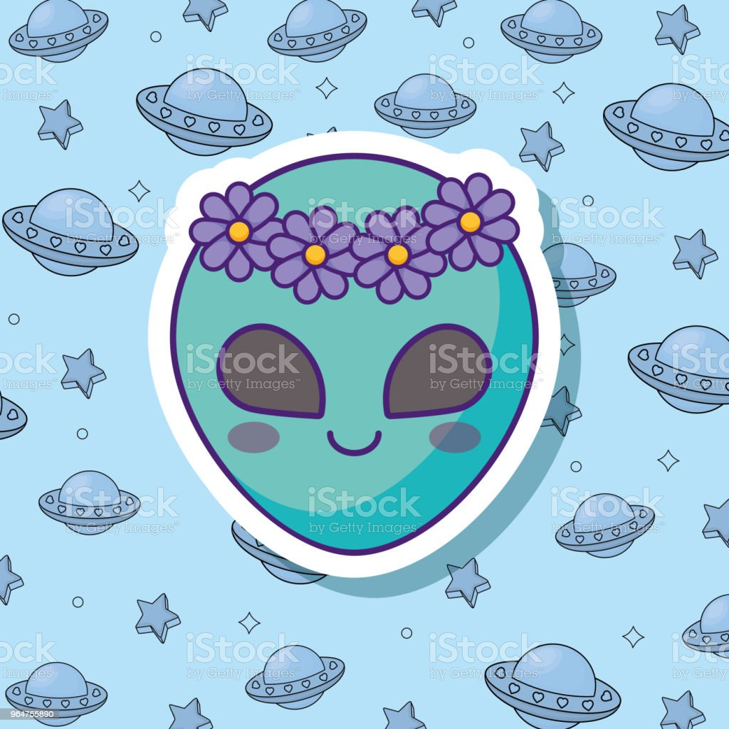 cute alien design royalty-free cute alien design stock vector art & more images of abstract
