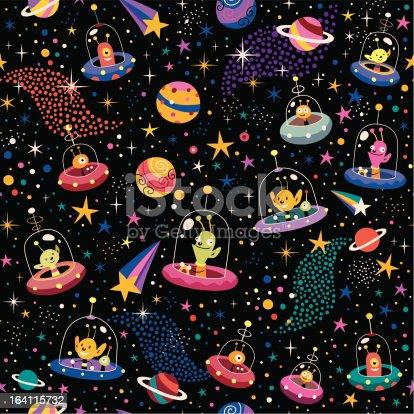 istock cute aliens pattern 164115732