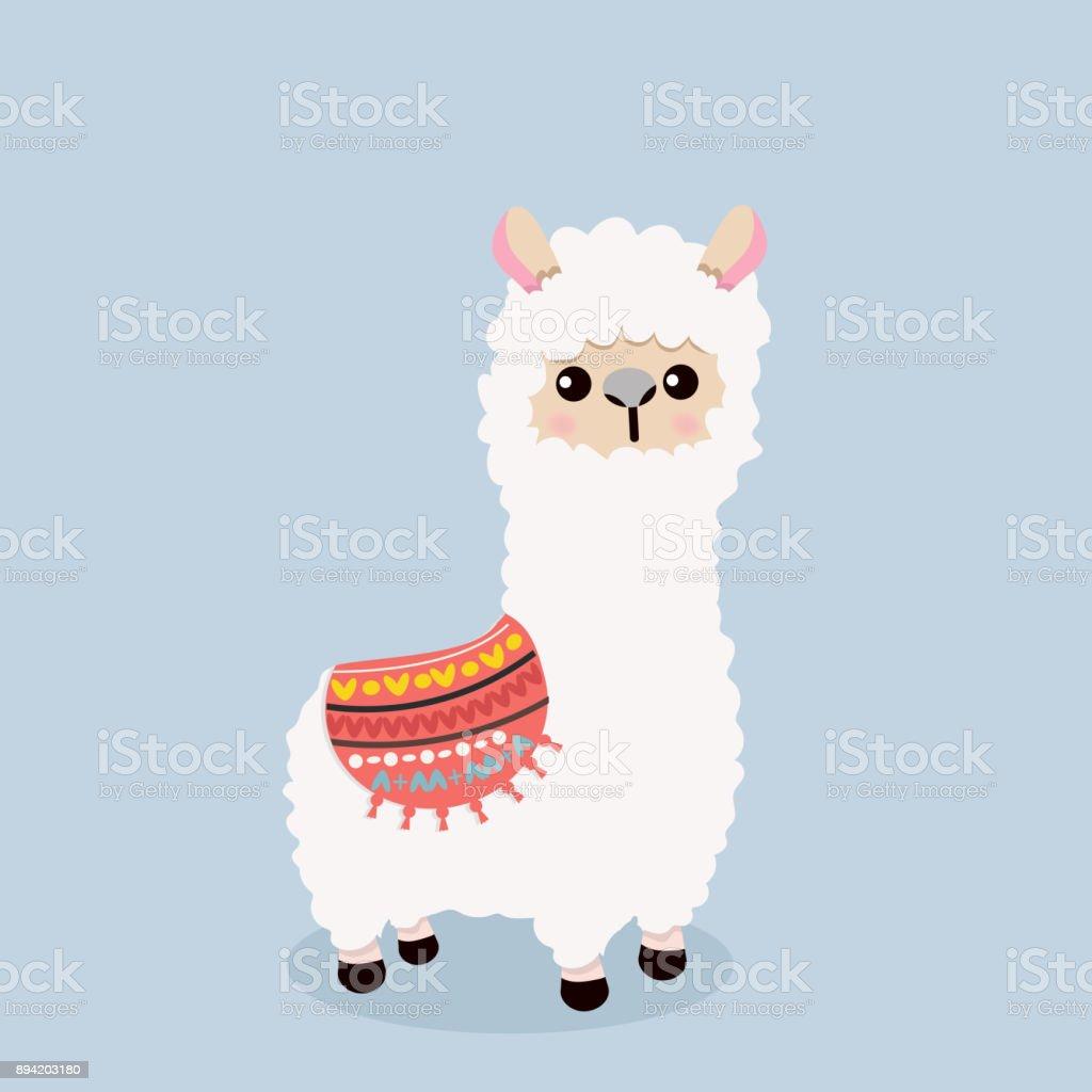 royalty free alpaca clip art vector images illustrations istock rh istockphoto com alpaca clipart alpaca clip art images