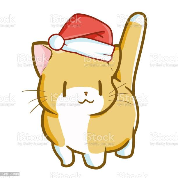 Cute and funny fat yellow cat wearing santas hat vector id980122308?b=1&k=6&m=980122308&s=612x612&h=c4url8kmh7z1a6hvoi3ws2xycatcohwctsff2xqf my=