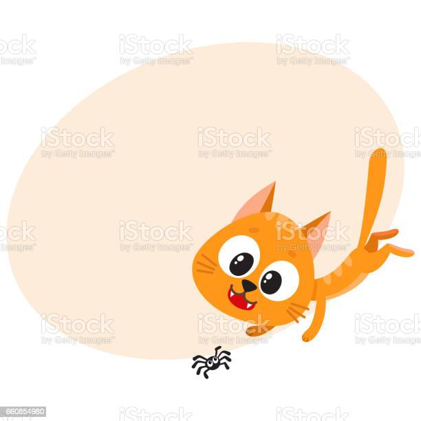 Cute and funny red cat character chasing hunting playing with little vector id660854980?b=1&k=6&m=660854980&s=612x612&h=f7zgzcrkyqkb6te7slhfsuoolh4efwkgo b9b7zedpi=