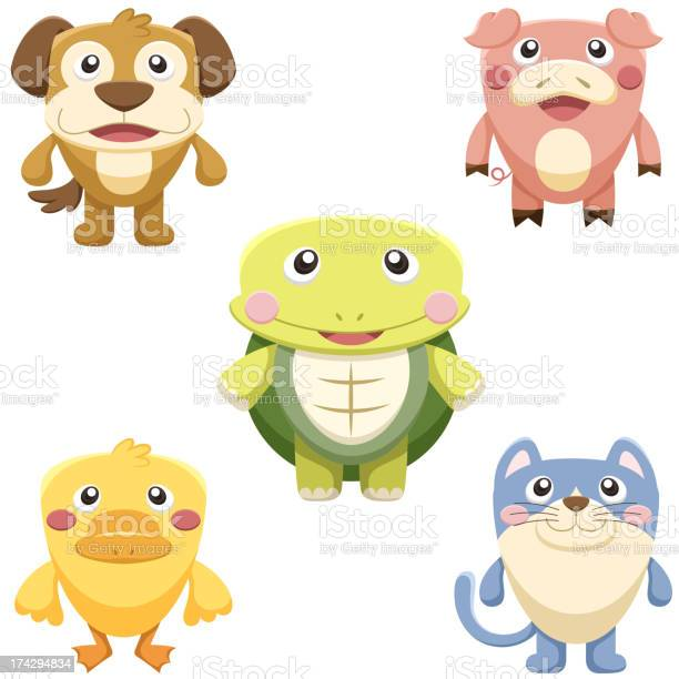 Cute animal collection vector id174294834?b=1&k=6&m=174294834&s=612x612&h=mvutlsltwlyfqdoghbskfr0ah0ei3syprvcn1lmfama=
