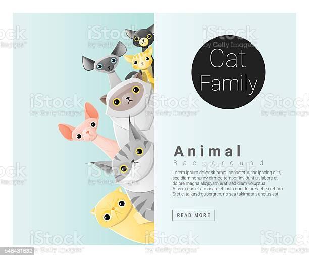 Cute animal family background with cats 2 vector id546431632?b=1&k=6&m=546431632&s=612x612&h=sv8pvy435hfahnwaewjgxcfbopqrhiuqhtgqxzm d7k=