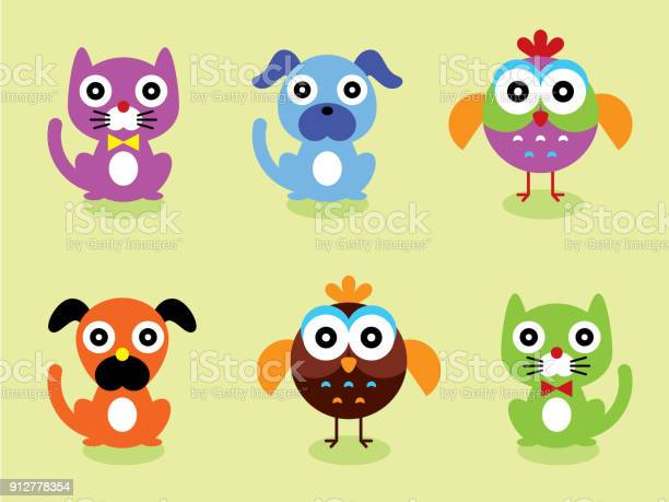 Cute animal pet card vector id912778354?b=1&k=6&m=912778354&s=612x612&h=qhhfphez8zw8rym8lsexadebqpnts im8ioyrna 5bk=