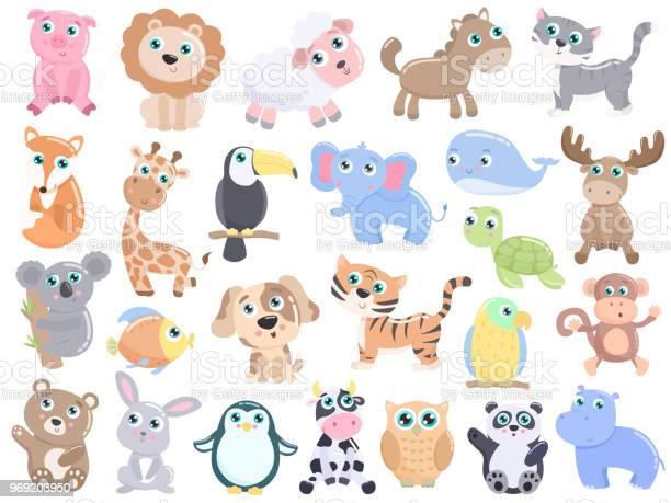 Cute animal set vector id969203950?b=1&k=6&m=969203950&s=612x612&h=jevlb6pmqjur9vc79rzd1nr al12 wzoamknxhki3hs=