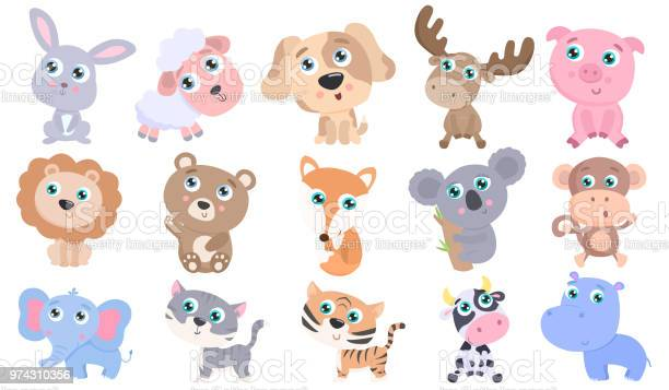 Cute animal set vector id974310356?b=1&k=6&m=974310356&s=612x612&h=cxpe2mjzk18mtcircd n1n7oohjxds1ks77c1h dumy=