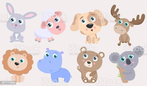 Cute animal set vector id977774032?b=1&k=6&m=977774032&s=612x612&h=poj3sjr5iee0eynvqktnk0qx8lm4edxfozjrt x7okg=
