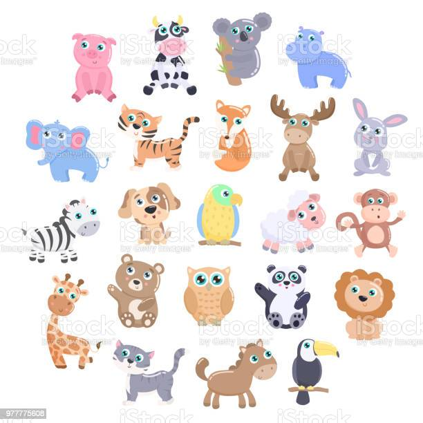 Cute animal set vector id977775608?b=1&k=6&m=977775608&s=612x612&h=m6vpfv9ffunvtqro wp6az02lplsqds3  holy55rgu=