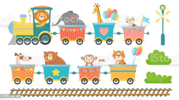 Cute animals on train happy animal in railroad car little pets ride vector id1175416189?b=1&k=6&m=1175416189&s=612x612&h=fnzlht56 ktw1798bmftnre dnk9toi6i7ndxbr6yqu=