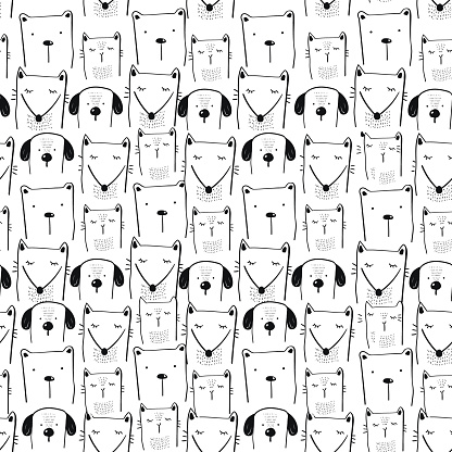 cute animals pattern