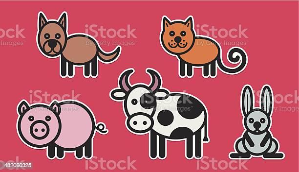 Cute animals set illustration vector id482060325?b=1&k=6&m=482060325&s=612x612&h=9kyv6glsrse okrvpwgdygr1cbrfy4dtphhrrh xvaa=