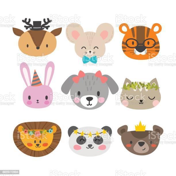 Cute animals with funny accessories set of hand drawn smiling cat vector id665970994?b=1&k=6&m=665970994&s=612x612&h=4ard82ntsim476dbxcwwd rhgmo9iuskvu3 x4tpium=