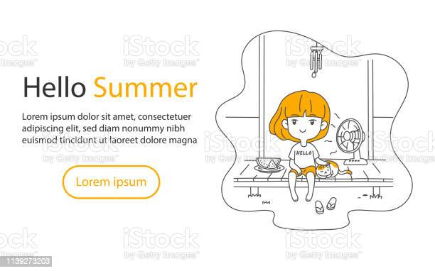 Cute asian girl and cat relaxing at home terrace summer with and fan vector id1139273203?b=1&k=6&m=1139273203&s=612x612&h=azmwcana fxar1itn9mqdovv3rlbv20cztzftge ohu=