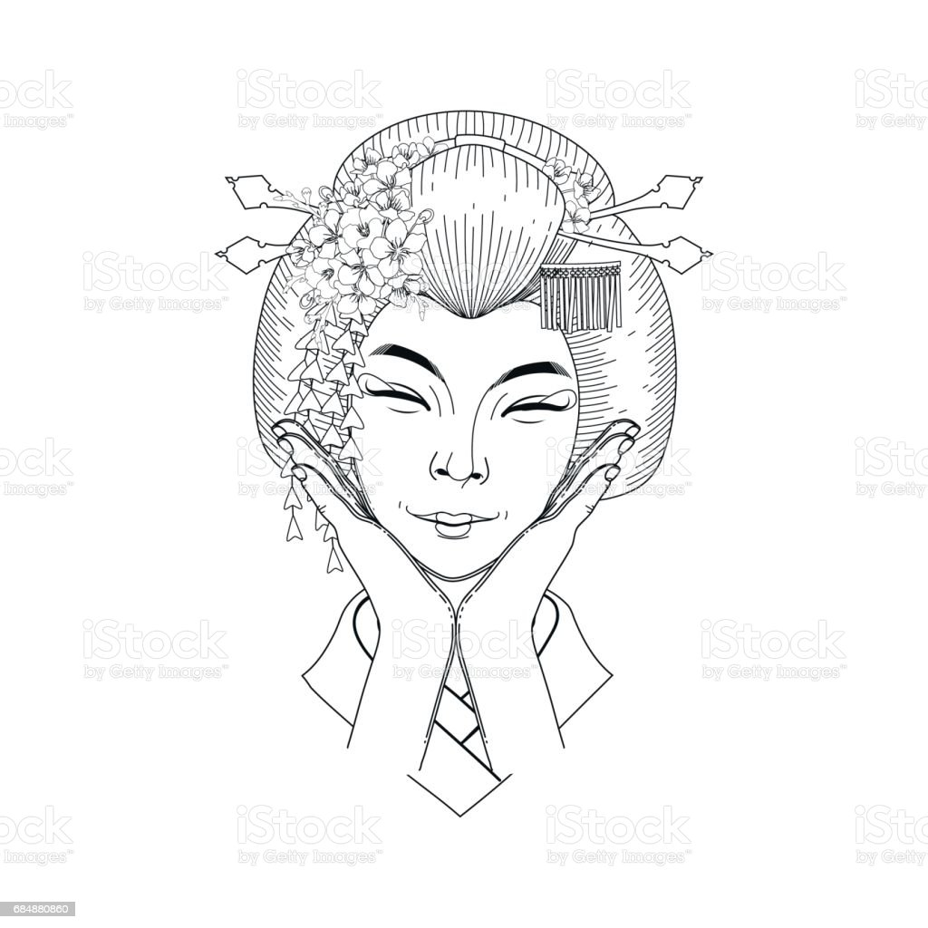 Cute Asian Girl Stock Illustration Download Image Now Istock