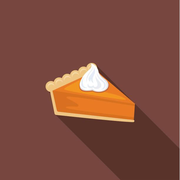 可愛的秋天圖示-南瓜派 - pumpkin pie 幅插畫檔、美工圖案、卡通及圖標