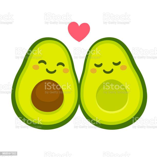 Cute avocado couple in love vector id968597302?b=1&k=6&m=968597302&s=612x612&h=wigk69dunceekl gqq0sx2wfmgnnvu8kw3ratkpct20=