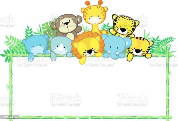 Cute baby animals and bamboo frame vector id828774742?b=1&k=6&m=828774742&s=612x612&h=ywjwkixwm2sl8rmkj sp8xdb8qmqvcwifcvfwrfcdr0=
