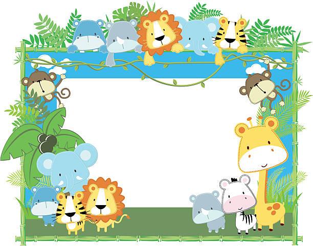 Royalty Free Safari Animals Clip Art Vector Images