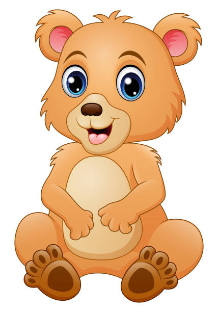 Royalty Free Grizzly Bear Cub Clip Art, Vector Images ...