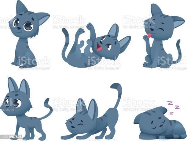 Cute baby cats funny little domestic animals toy kitten vector in vector id1041857828?b=1&k=6&m=1041857828&s=612x612&h=kpznbeuvtwwq v0rqefnwzb2hcrwjtza6oshecoahaa=