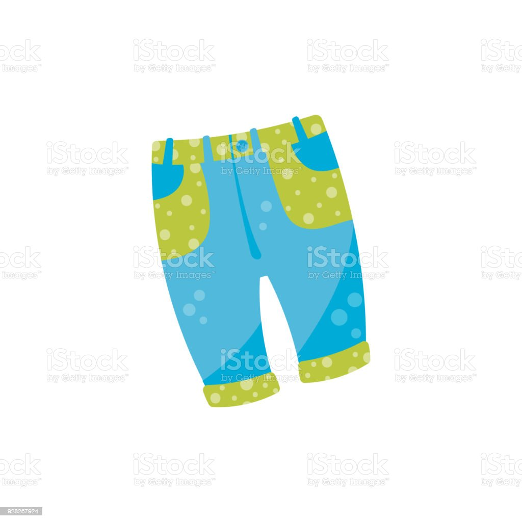 Bolsillos Mezclilla Con Ilustración Bebé De Pantalones Lindo qpfYFU