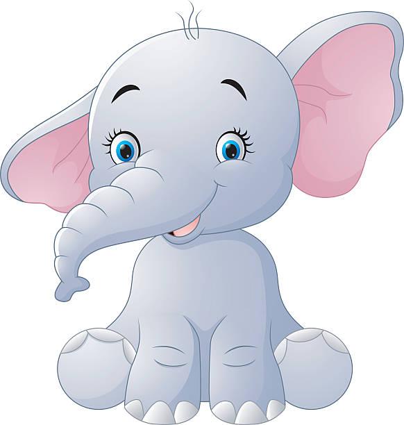 434 Cartoon Of The Elephant Eye Illustrations Royalty Free Vector Graphics Clip Art Istock