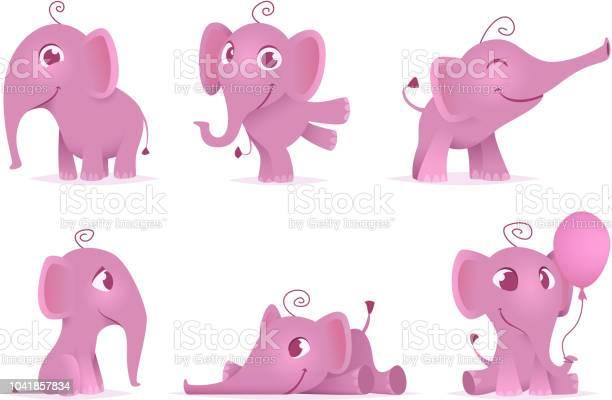 Cute baby elephants wild african funny adorable animals vector in vector id1041857834?b=1&k=6&m=1041857834&s=612x612&h=hjo2kue1yjpqhgynqq4qwxauhhiqovaruwvrmljxjns=