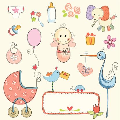 Cute Baby Girl Set