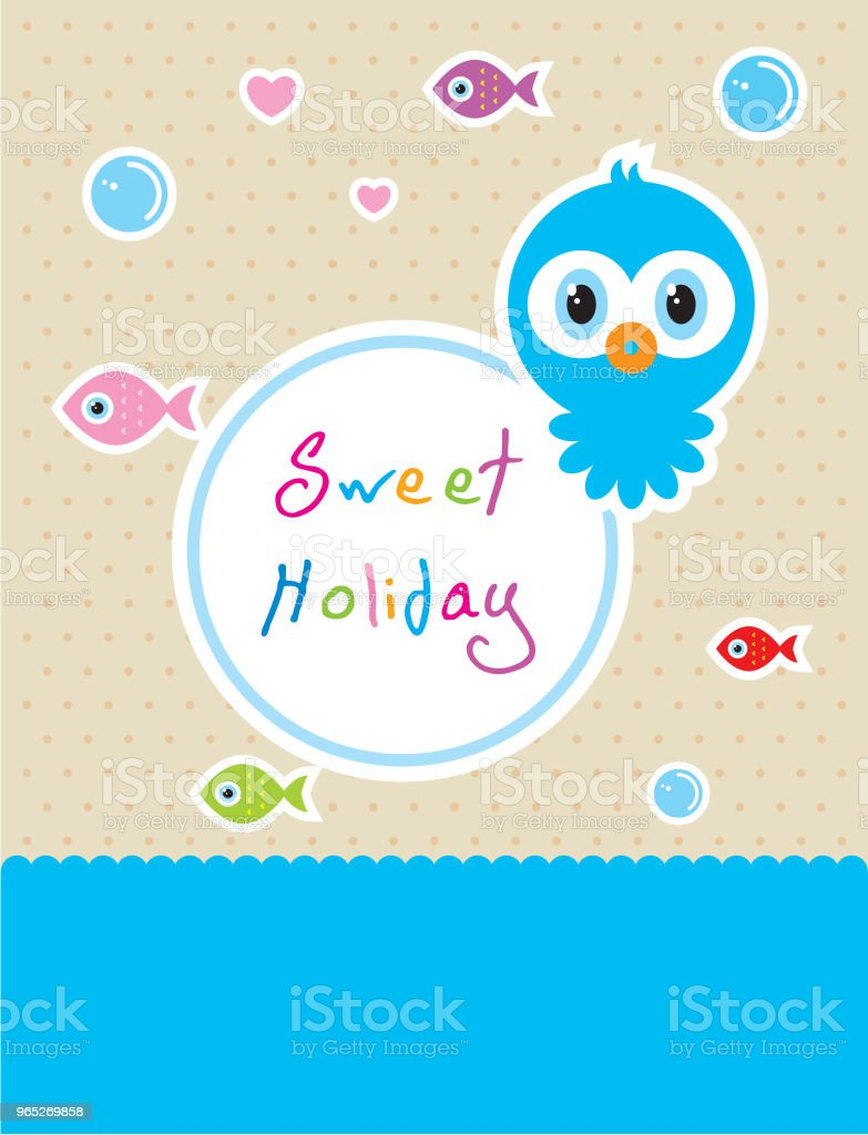 cute baby octopus sweet holiday vector royalty-free cute baby octopus sweet holiday vector stock vector art & more images of anniversary