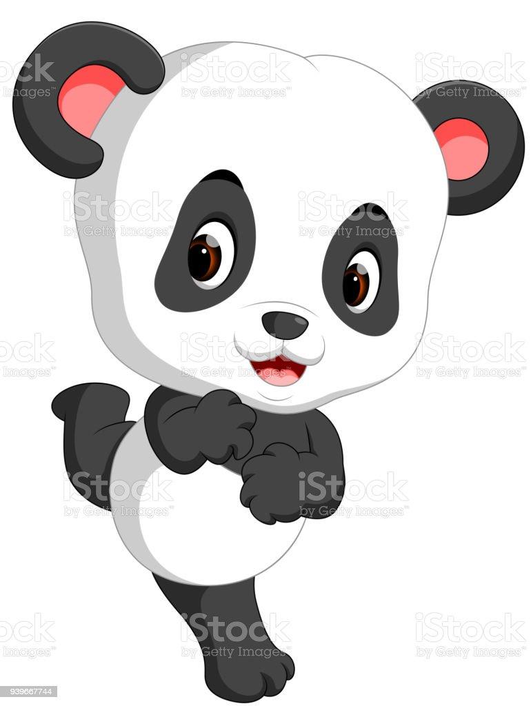 Dessin Animé Mignon Bébé Panda Vecteurs Libres De Droits Et Plus Dimages Vectorielles De Animal Femelle