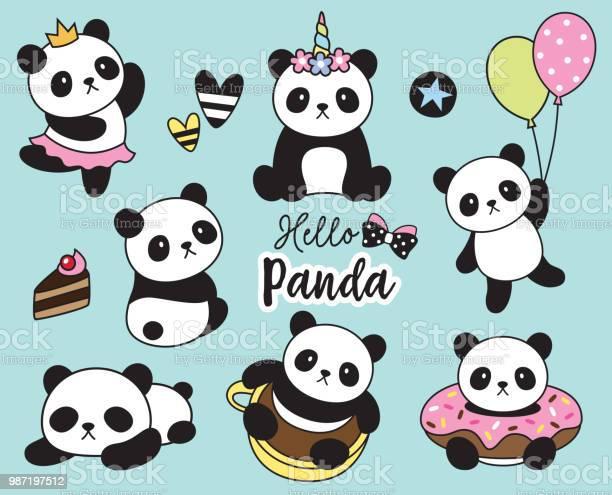 Cute baby panda vector illustration vector id987197512?b=1&k=6&m=987197512&s=612x612&h=edlr5dlc5u6y f nbszbme7ytfg9swzcuvyh2tswz9g=