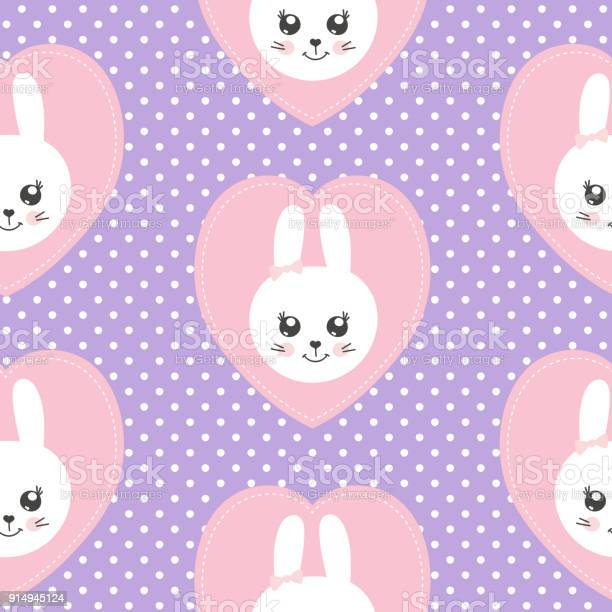 Cute baby pattern with little bunny cartoon animal girl print vector vector id914945124?b=1&k=6&m=914945124&s=612x612&h=jjg7pzwn3mn8sjt wdeyh49v6bksy1vuwijxpwyt0jy=