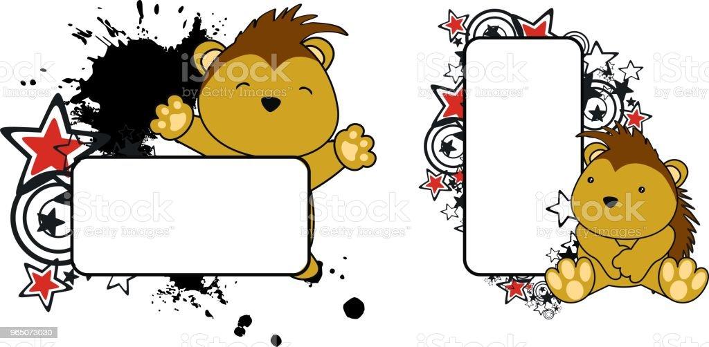 cute baby porcupine copy space set cute baby porcupine copy space set - stockowe grafiki wektorowe i więcej obrazów ameryka łacińska royalty-free