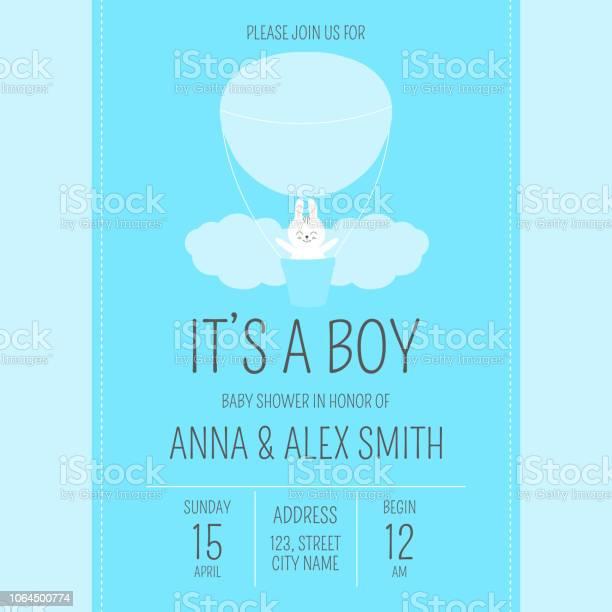 Cute baby shower boy invite card vector template cartoon animal blue vector id1064500774?b=1&k=6&m=1064500774&s=612x612&h=iqpsu7bva1auvw7 bq2srqidqagdfl1jfiyfltjg1pi=