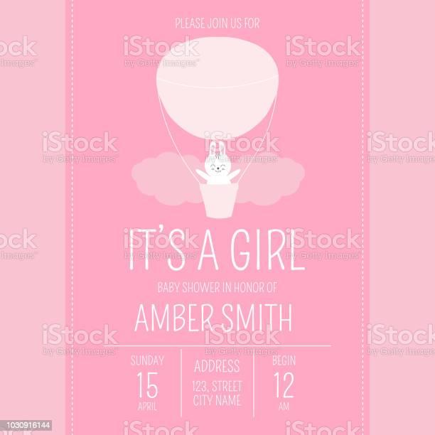Cute baby shower girl invite card vector template cartoon animal vector id1030916144?b=1&k=6&m=1030916144&s=612x612&h=4n0zbkkrngazywzomxtnzoeogv2 1co7dw6uvdsj720=