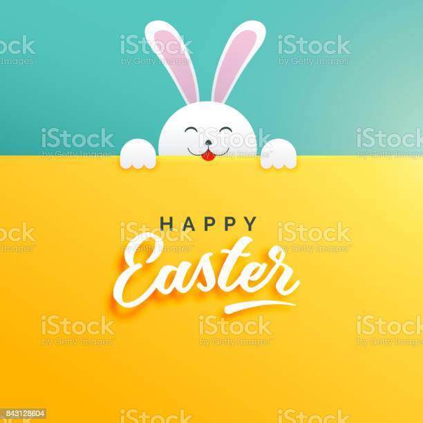 Cute background of rabbit for happy easter vector id843128604?b=1&k=6&m=843128604&s=612x612&h=tpbx8ii upogltn uuyskmfcx8a5i0szqam1f cghzc=