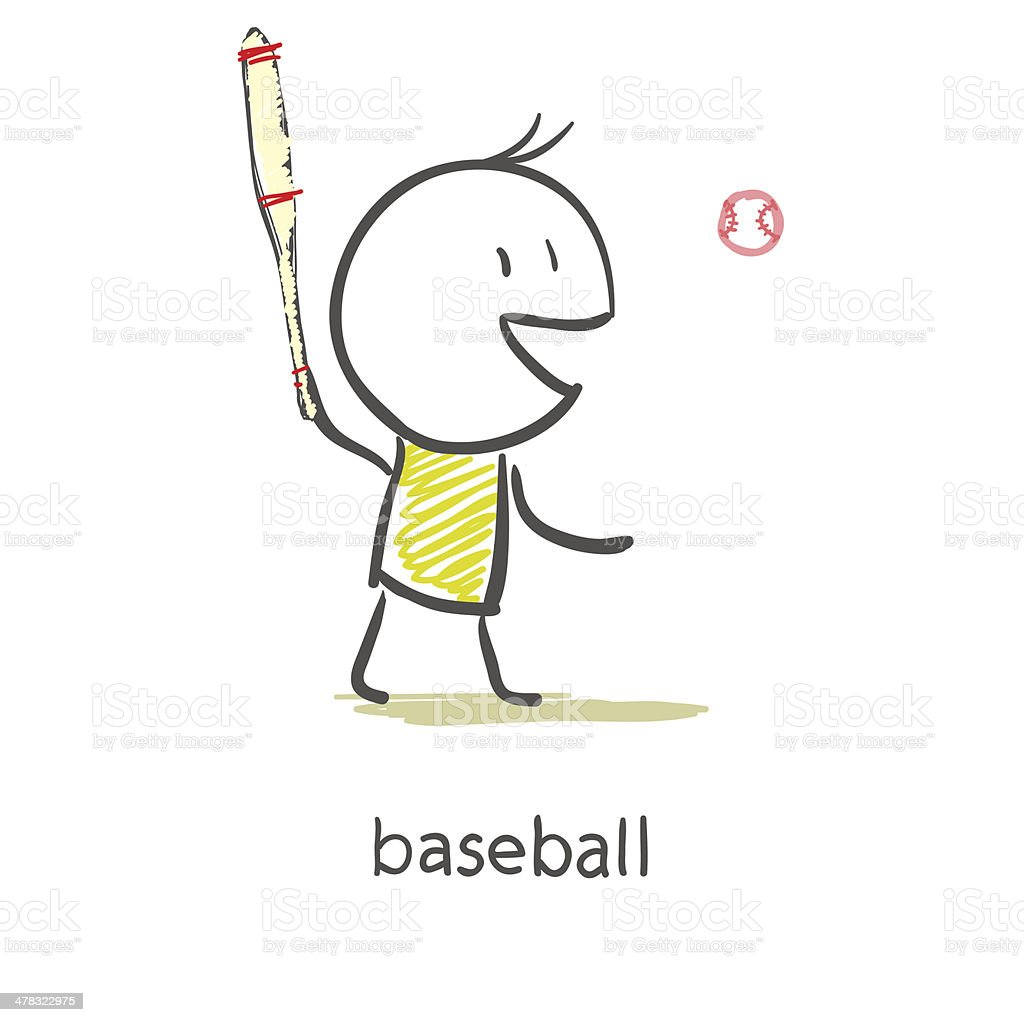 Cute Baseball Player royalty-free cute baseball player stock vector art & more images of athlete