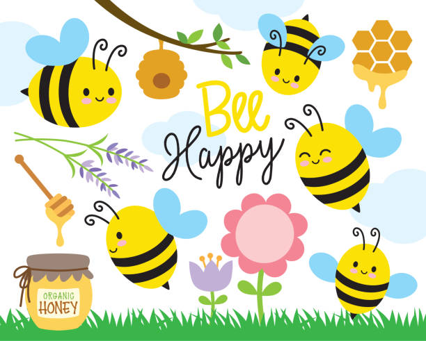 14,836 Bee Flower Illustrations & Clip Art - iStock