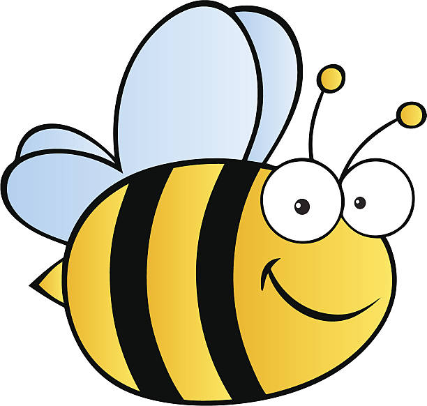 Cute Bee Please see some similar pictures from my portfolio:  bee clipart stock illustrations