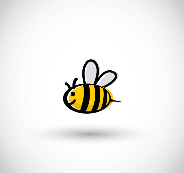 Cute bee vector illustration vector art illustration