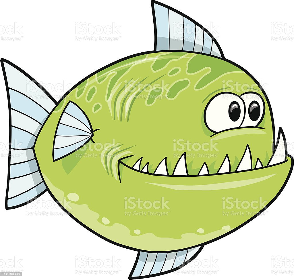 Cute Big Fish royalty-free cute big fish stock vector art & more images of animal