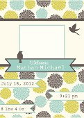 Cute Birth Announcement Template - Boy