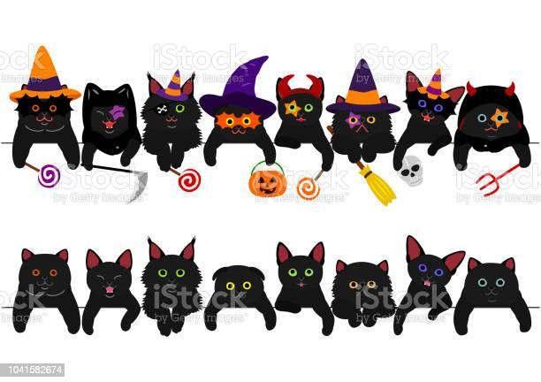 Cute black kitties border set with halloween costumes vector id1041582674?b=1&k=6&m=1041582674&s=612x612&h=asd kuedmopxgekmct6iumxi1addulpfbtstesngvps=