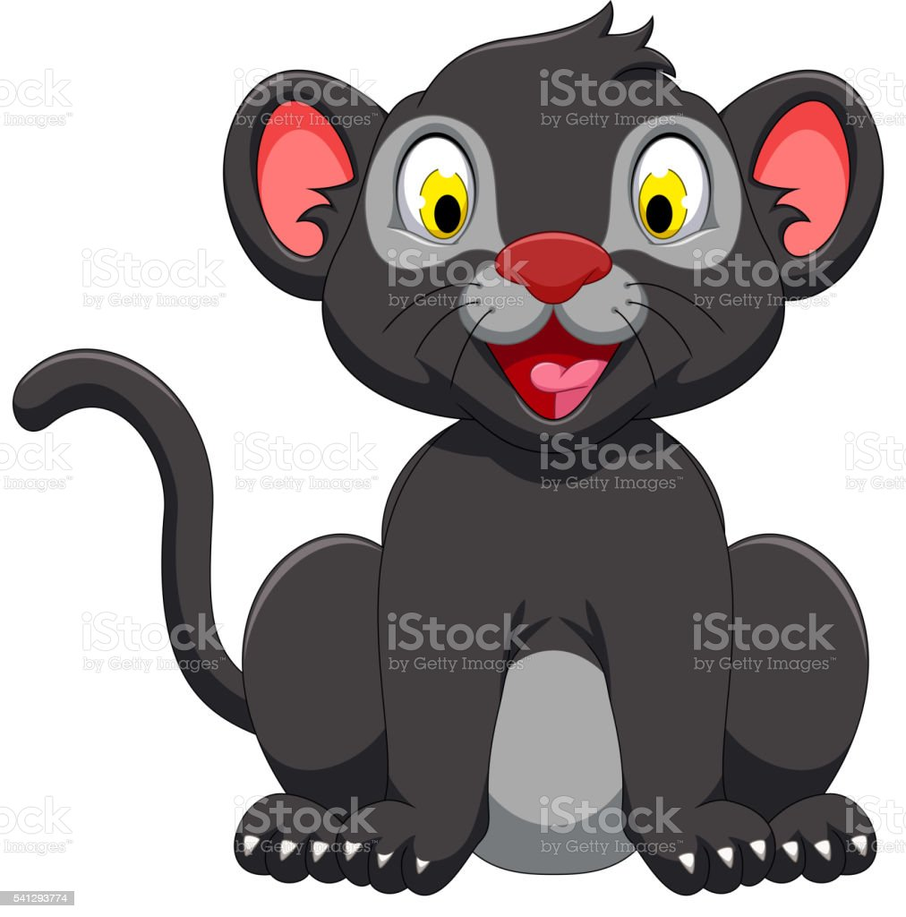 royalty free clip art of mountain lion cub clip art vector images rh istockphoto com mountain lion black and white clipart
